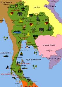 города и курорты таиланда