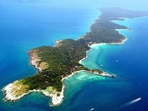остров Самет сверху