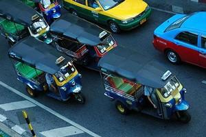 Стоимость транспорта в Таиланде