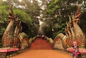 Храм Дои Сутеп в Чианг Мае