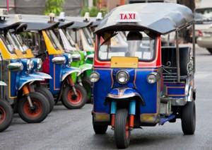 Тук-Тук в Тайланде