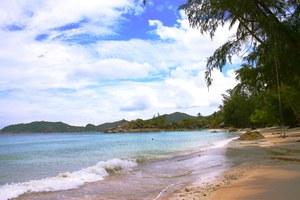 Пляж на отсрове Панган