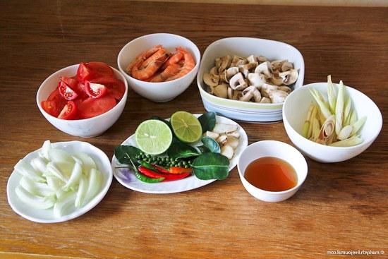 рецепт том ям суп из пасты том ям