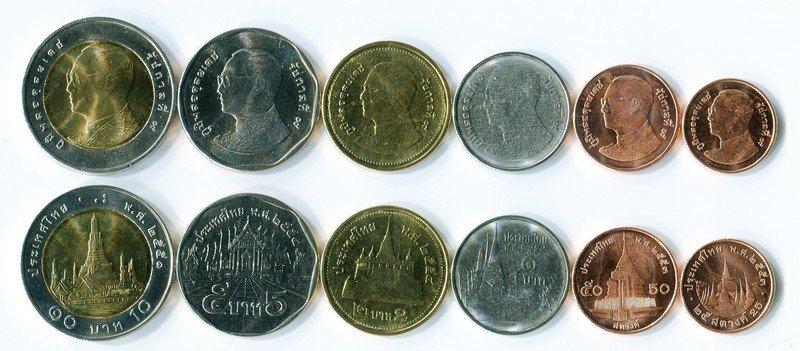 Монета тайланда 1 бат стоимость в рублях рашенкойн