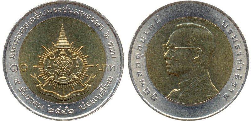 Монеты тайланда 2 бат стоимость в рублях покупка инвестиционных монет георгий победоносец